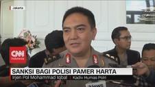 VIDEO: Sanksi Tegas Bagi Polisi yang Pamer Kemewahan