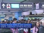 Unjuk Rasa Berkepanjangan, Kaum Komuter Hong Kong Terganggu