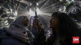 FOTO: Ruang 'Selfie' Sarat Inspirasi di Playspace