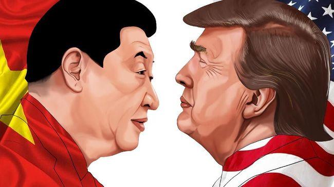 Xi Jinping Kalahkan Trump, Ini Sejarah Perang Dagang China-AS