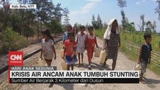 VIDEO: Krisis Air di NTT Ancam Anak Tumbuh Stunting