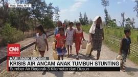 VIDEO: Krisis Air di NTT Ancam Anak Tumbuh Stunting