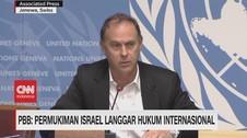 VIDEO - PBB: Pemukiman Israel Langgar Hukum Internasional