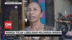 VIDEO: Ratusan Warga Tolak Disebut Keluarga Miskin