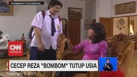 VIDEO: Aktor Cecep Reza 'Bombom' Meninggal Dunia