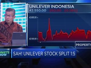 Ukur Dampak Stock Split Bagi Kinerja Saham Unilever
