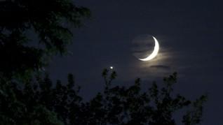 Cara Amati Bintang Kejora dan Jupiter di Ufuk Barat Pekan Ini
