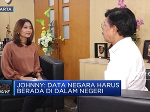 Menkominfo Johnny: Kita Akan Susun UU Perlindungan Data