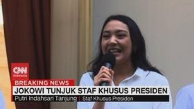 VIDEO: Putri Indahsari Tanjung, Staf Khusus Presiden Termuda