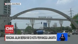 VIDEO: Rencana Jalan Berbayar di Kota Penyangga Jakarta