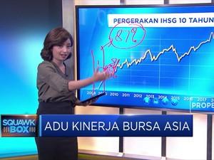 Adu Kinerja Bursa Asia
