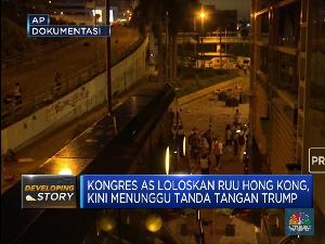 Tok! Parlemen AS Loloskan RUU Hong Kong