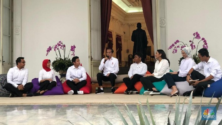 Ini deretan staf khusus Jokowi periode 2019-2024.