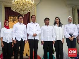 Jokowi Angkat 7 Milenial jadi Stafsus, Termasuk Putri Tanjung