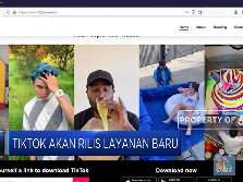Layanan Streaming Musik Tiktok Bakal Sasar Indonesia