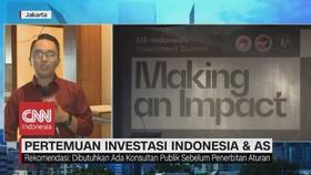 VIDEO: Pertemuan Investasi Indonesia-AS