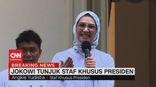 VIDEO: Angkie Yudistia, Wakil Disabilitas di Stafsus Presiden