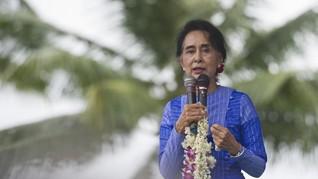 Suu Kyi Pimpin Delegasi Myanmar Hadapi Gugatan soal Rohingya