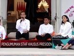 Gaya Jokowi Umumkan Stafsus Milenial di Istana