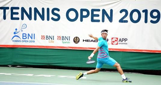 Tekuk David, Rifqi Fitriadi Masuk Final BNI Tennis Open 2019
