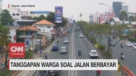 VIDEO: Tanggapan Warga Soal Jalan Berbayar