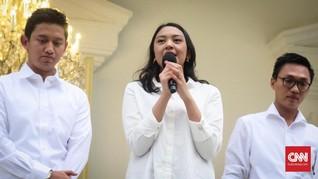 Pernyataan Pertama Putri Tanjung Usai Ditunjuk Stafsus Jokowi