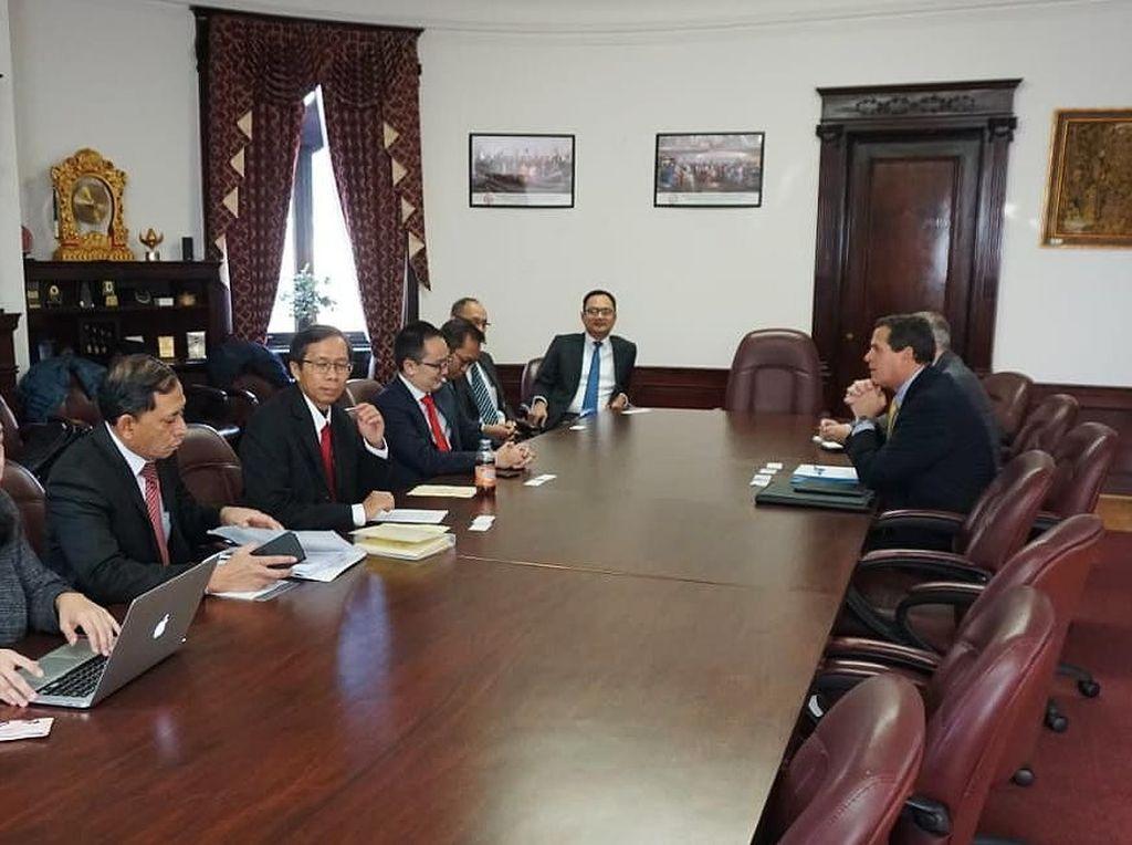 Wamendag Kunjungi AS untuk Perkuat Kerja Sama Perdagangan
