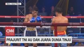 VIDEO: Prajurit TNI AU dan Juara Dunia Tinju