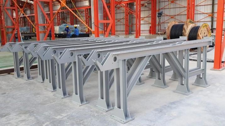 Indonesia merupakan importir baja terbesar yang masuk nomor 3 dalam daftar barang impor terbanyak.