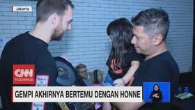 VIDEO: Gempi Akhirnya Bertemu dengan Honne