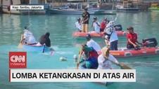 VIDEO: Lomba Ketangkasan di Dalam Air