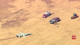VIDEO: Dua Pilot AS Tewas Saat Latihan Pesawat Jet T-38