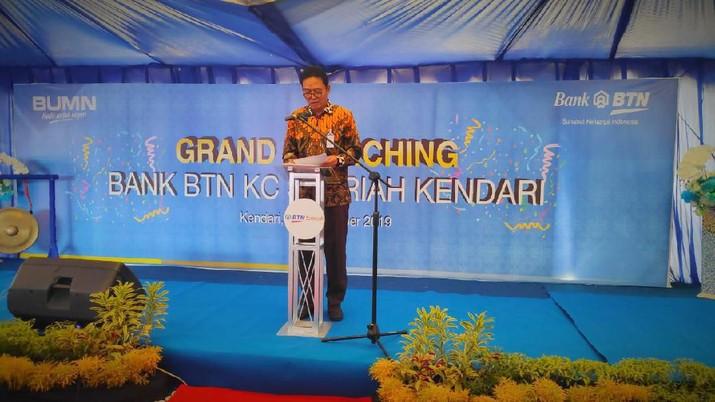 PT Bank Tabungan Negara (Persero) Tbk. (BBTN) kian mengembangkan bisnis syariahnya dengan membuka Kantor Cabang Syariah (KCS) ke-25 di Kendari.