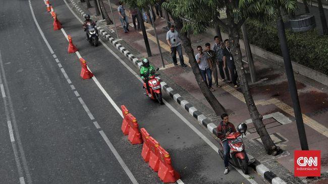 Hari Pertama, 66 Pelanggar Jalur Sepeda Ditilang