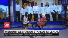 VIDEO: Mengenal Ayu Kartika Dewi, Milenial Pilihan Jokowi