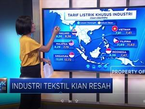 Industri Tekstil Kian Resah