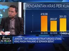Jalan Berat & Panjang Restrukturisasi Utang Krakatau Steel