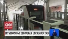 VIDEO: LRT Velodrome Beroperasi 1 Desember 2019