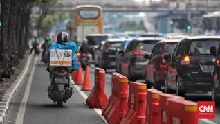 Mulai Hari ini Pelanggar Jalur Sepeda di Jakbar Ditilang