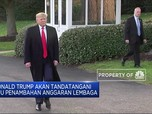 Donald Trump Teken RUU Tambahan Anggaran Bagi Kementerian