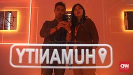 FOTO: Gaduh 'Labirin' Media Sosial di 'Humanize Us'