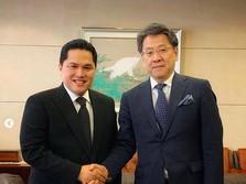 Erick Bertemu Bos Softbank & JBIC di Jepang, Bahas Apa?