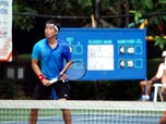 Aksi Ganda Putra David & Anton di Final BNI Tennis Open 2019