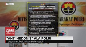 VIDEO: Anti Hedonis ala Polri