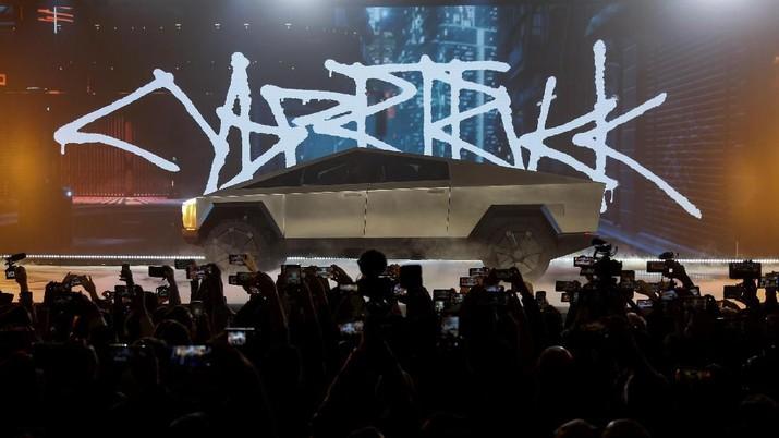 Ini Cybertruck, Mobil Pickup Listrik Canggih Buatan Tesla