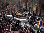 Prosesi Pemakaman Jadi Demo Ricuh di Bolivia