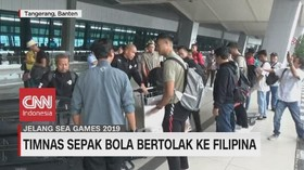 VIDEO: Timnas Indonesia Bertolak ke Filipina