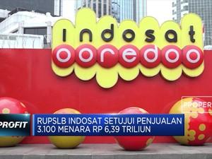 RUPSLB Indosat Setujui Penjualan 3.100 Menara Rp 6,39 T