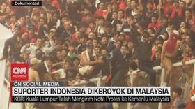 VIDEO: Suporter Indonesia Dikeroyok di Malaysia