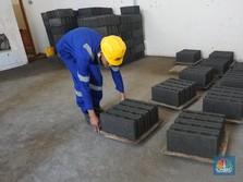 Inovasi! Limbah PLTU Disulap Jadi Bahan Baku Material Rumah